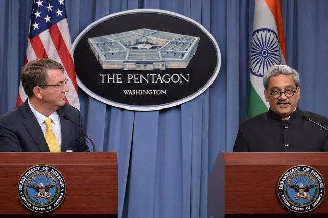 Defence Minister Parrikar Visits U.S. To Further Cooperation