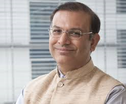 "Minister of State for Finance Jayant Sinha will chair a panel discussion on ""Show me the money: How do we capitalise entrepreneurhip"""