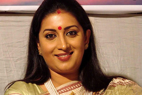 Union Human Resource Development Minister Smriti Irani