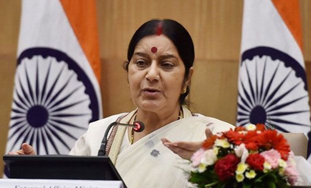 Sushma Swaraj (File photo: PTI)