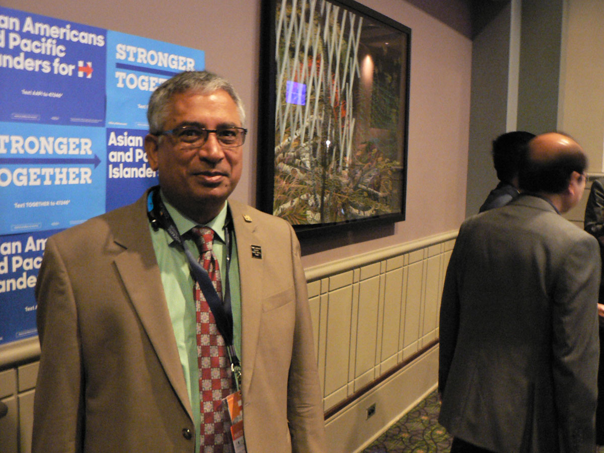 Shekhar Narasimhan, has set up the Asian American Pacific Islander Victory Fund to fund voter mobilisation campaigns in key states.(Credit: IANS)