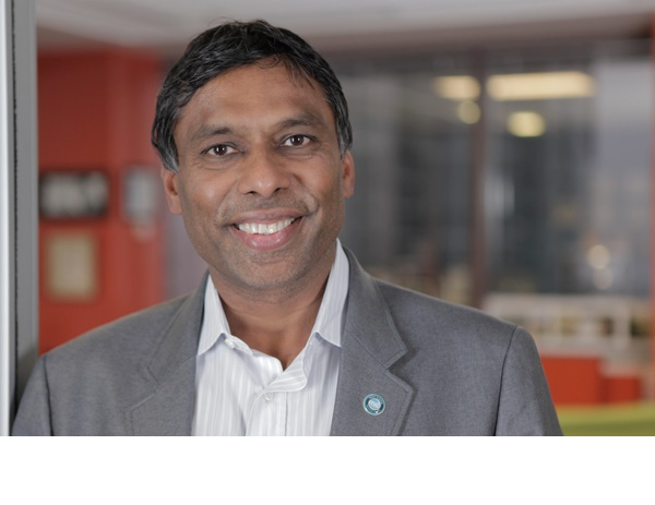 Moon Explorer, a company founded by Naveen Jain has received United States government approval to launch a moon lander that will explore it for minerals that can be mined. Jain is seen floating in an aircraft that executes a manoevre to simulate weightlessness in space. (Credit: Courtesy naveenjain.com)