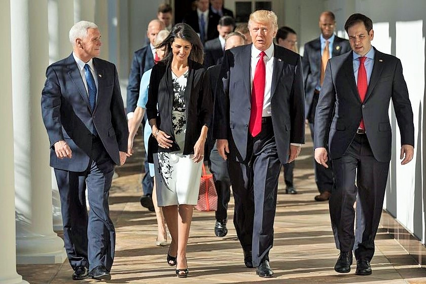 President Trump pleased Nikki Haley first Indian-American cabinet ...