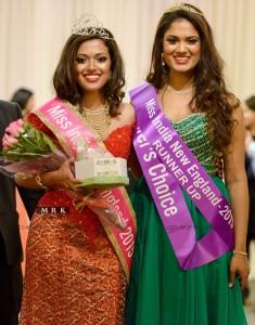 Miss India New England Anita Ganesan (left). Photo by MRK Visuals