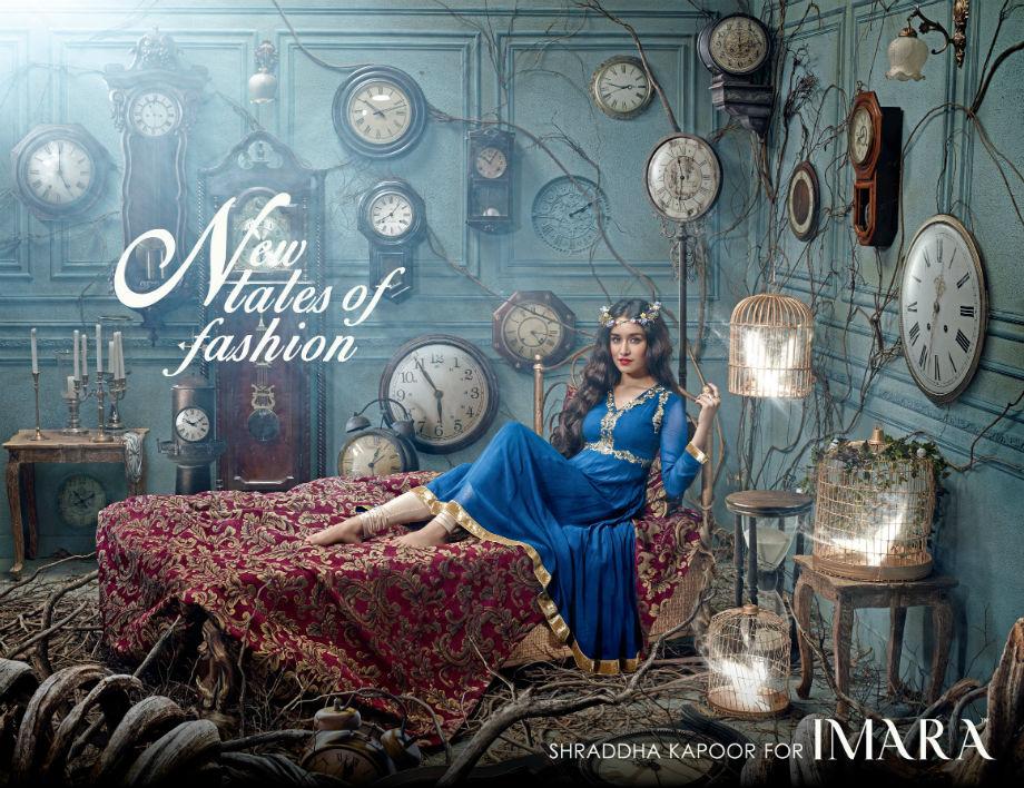 Shraddha Kapoor for IMARA campaign shots