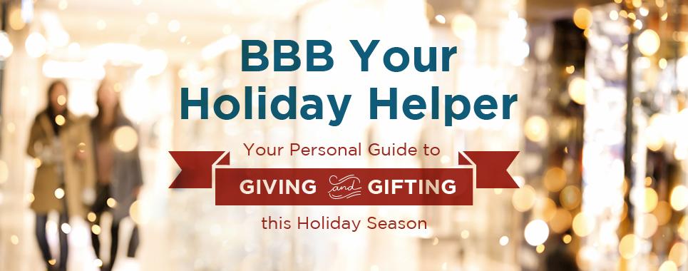 Better Business Bureau  Holiday Helper (Courtesy