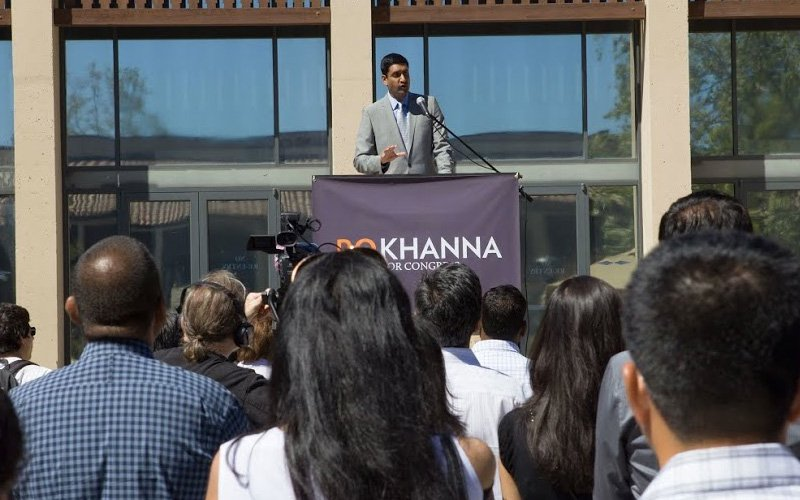 Candidate Ro Khanna (Courtesy RoKhanna.com)
