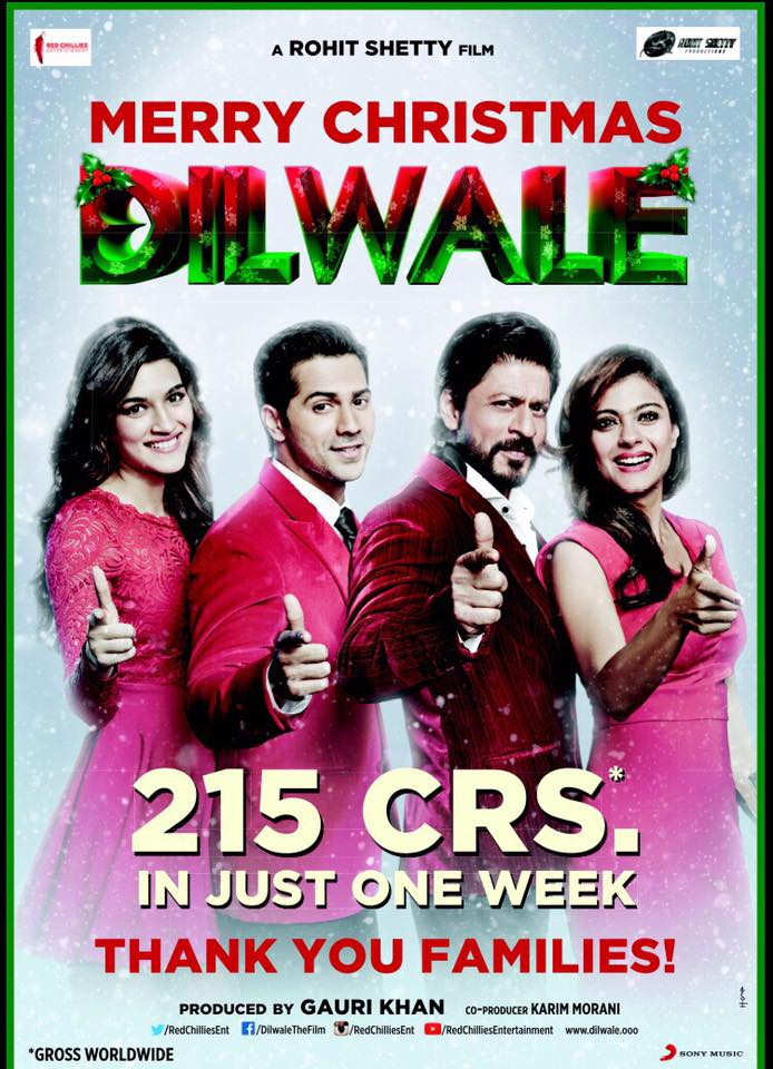 Dilwale-crores
