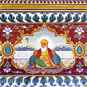 Guru Nanak was the founder of the religion of Sikhism and the first of the eleven Sikh Gurus, the eleventh being the living Guru, Guru Granth Sahib (Courtesy: Wikipedia)
