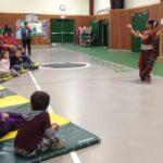 Mouli-Discover India Through dance at School assemblies