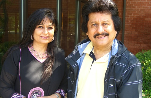 Chai with Manju host Manju Sheth recently met with Pankaj Udhas after one of the famous ghazal singer's concerts in Boston