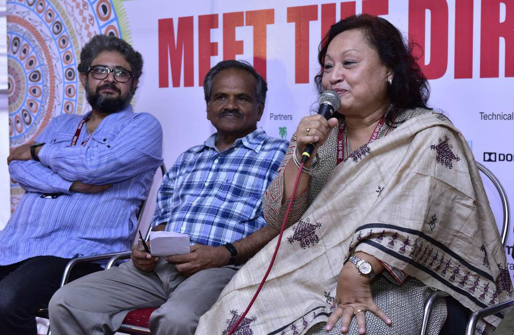 Debesh Chatterjee (left) and Manju Borah (right).