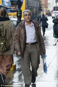 Ragheb Nouman outside Tribunal (Photo courtesy: Daily Mail)