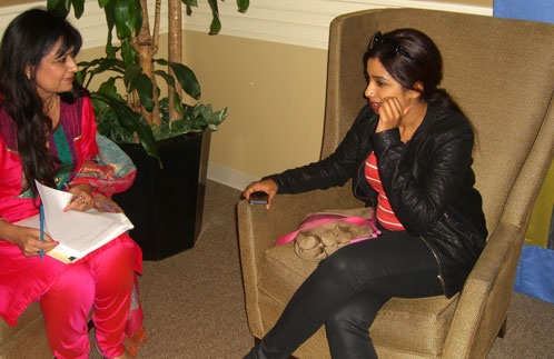 Chai with Manju host Manju Sheth recently met with Shreya Ghoshal after the famous Bollywood singer's September 22 concert at the Lowell Memorial Auditorium