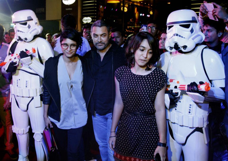 'Star Wars' premiere in Mumbai