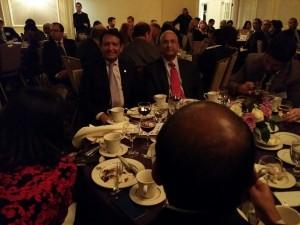 Leader Bank CEO Sushil Tuli with Harvard Business School Dean Nitin Nohria