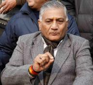 India's  Minister of State for Overseas Indian Affairs V.K. Singh