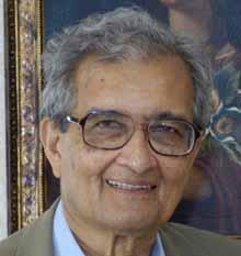Amartya Sen, Nobel laureate and  Thomas W. Lamont University Professor, and Professor of Economics and Philosophy at Harvard University