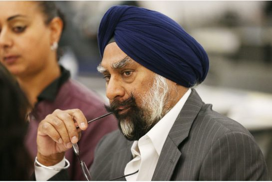 Amrik Singh Ahluwalia is the new chair of the Peel Police Services Board. (Photo courtesy: Carlos Osorio / Toronto Star)