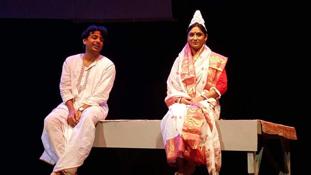 """A scene from the play """"Apu Trilogy"""""""
