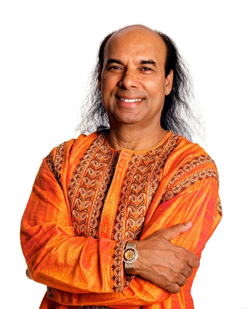 Bikram Choudhury  (Photo courtesy: Bikram Yoga website)