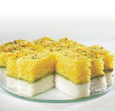 Tricolor Dhokla