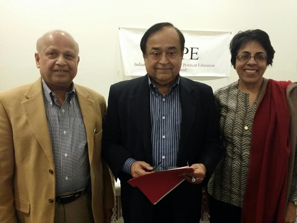 Three-member nominating committee (from left to right): Kaplesh Kumar, Gope Gidwani and Rita Adwani