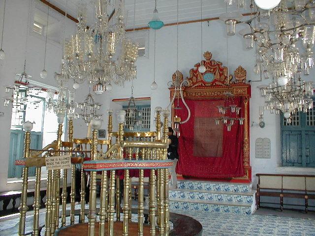 Paradesi Synagogue in Kochi (Photo: Wikipedia)