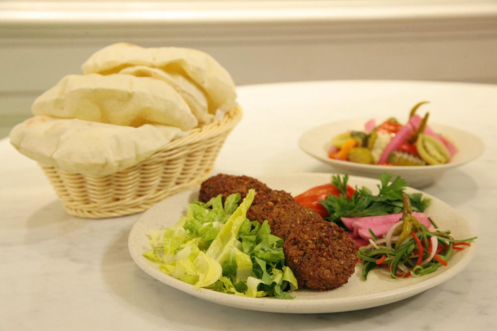 A satisfying portion of falafel at Zizo