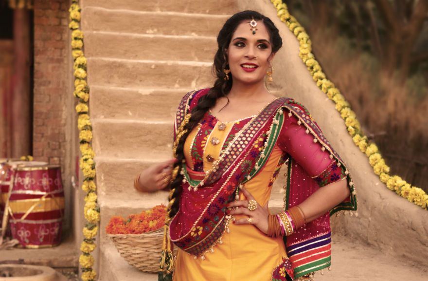 Richa Chadda's look in Sarbjit