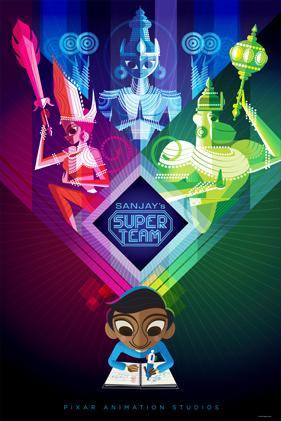 Sanjay's Super Team Poster