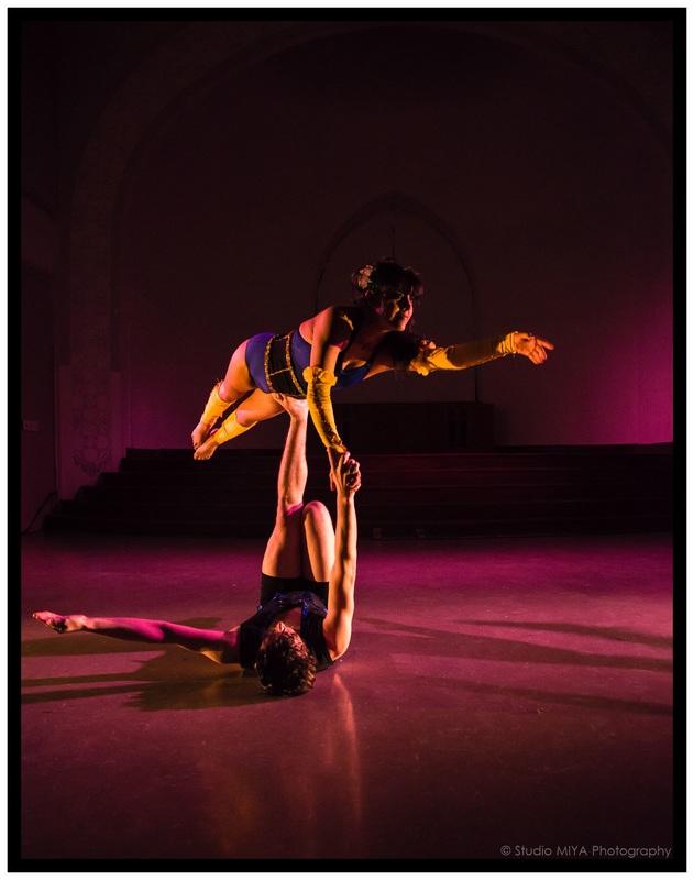 Bindis and Bruises (Photo courtesy: Chicago Danztheatre Ensemble)