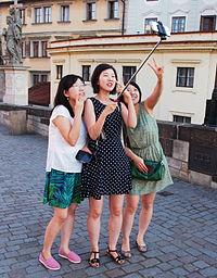 A selfie group file photo