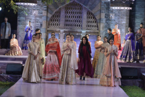 Images of designer Anita Dongre's collection showcased as a part of Make in India week.