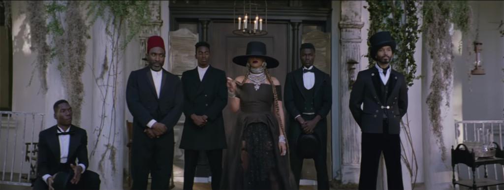 Beyonce in Falguni and Shane Peacock