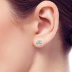 Bluestone-earring