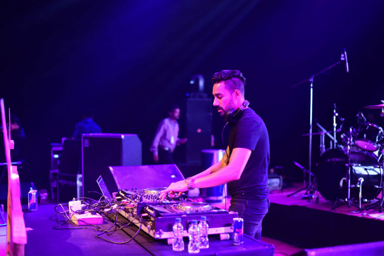 DJ Nucleya at Rongali, Assam's destination, culture and harmony festival.