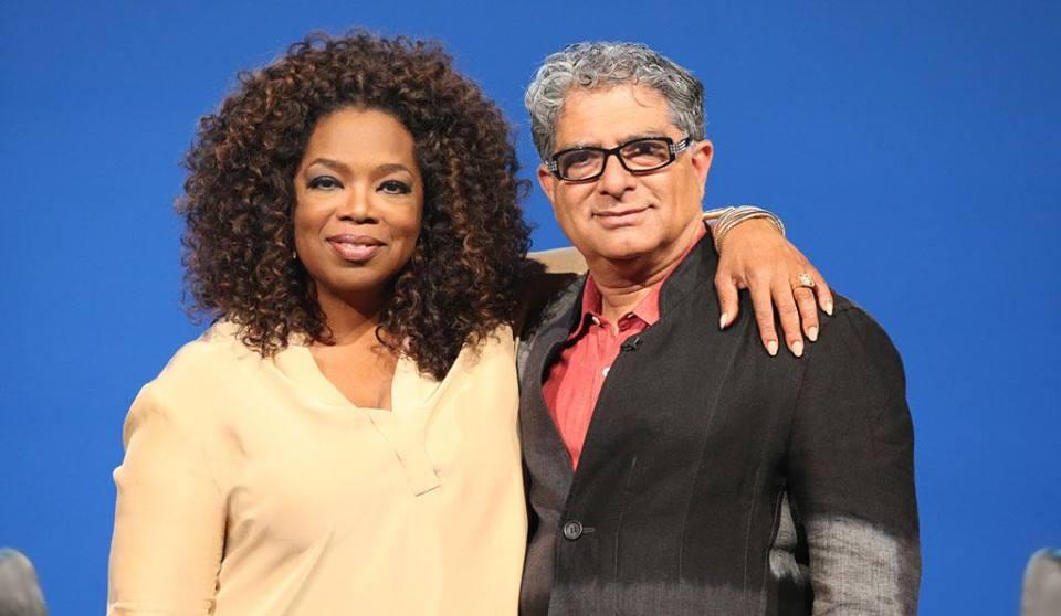 Oprah Winfrey and Deepak Chopra (Photo: Facebook)