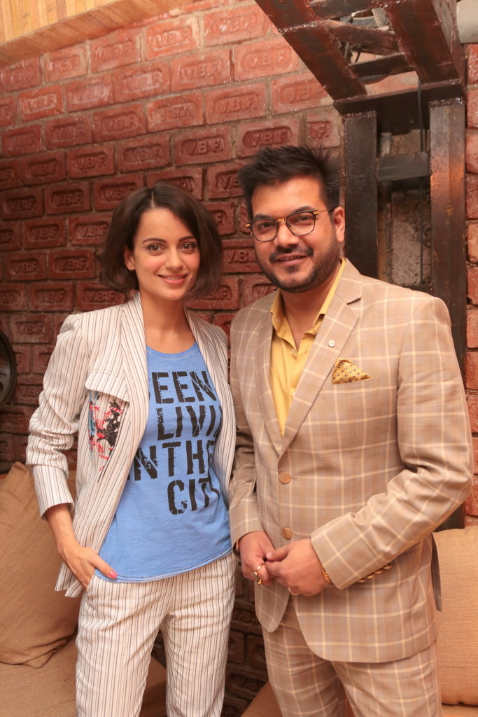 Kangana Ranaut launches table reservation app of Big Fish Ventures