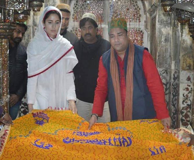 Katrina Kaif at Fatehpur Sikri