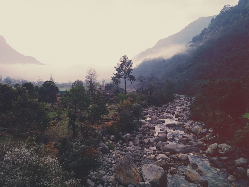 View of Mandal