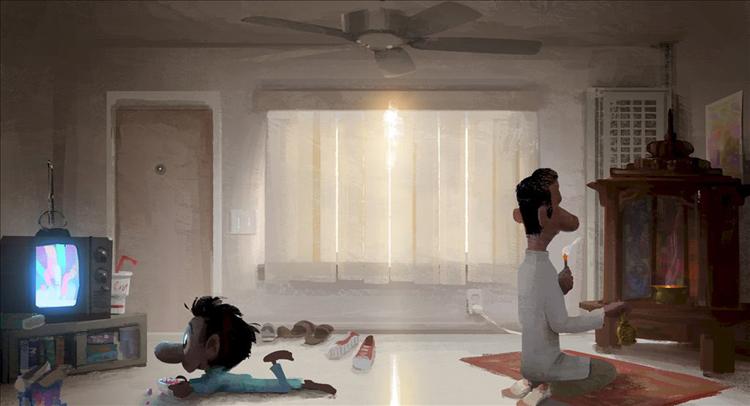 SANJAY'S SUPER TEAM (Concept Art). ©2015 Disney•Pixar. All Rights Reserved.