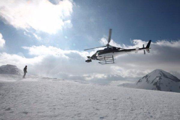 Ajay Devgn shooting on Balkan Mountains (Courtesy - Twitter)