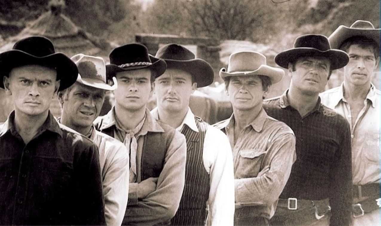 The Magnificent Seven that could make an engrossing book too