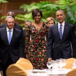 Michelle Obama-Havana-AP