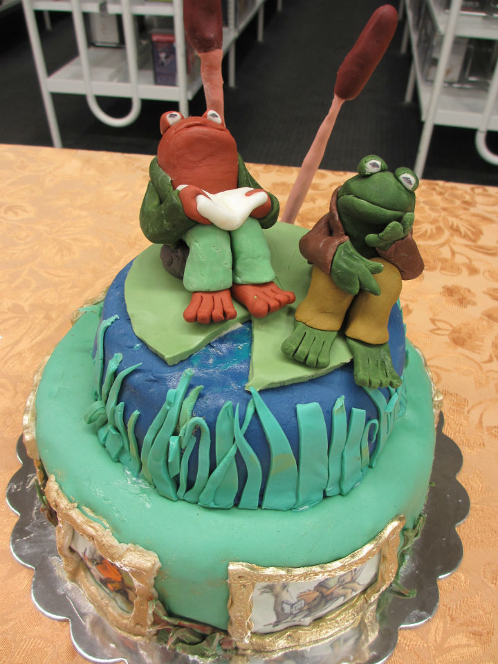 Frog and Toad, winner of Best in Show in last year's Edible Book Contest at the Nashua Public Library.