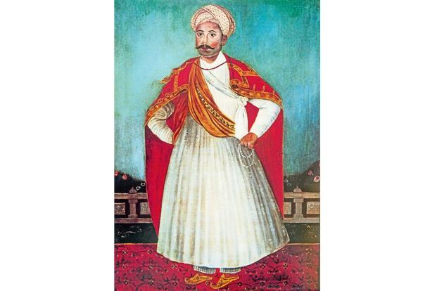 A portrait of 17th century Parsi trader Rustom Seth. (Photo courtesyL LiveMint)