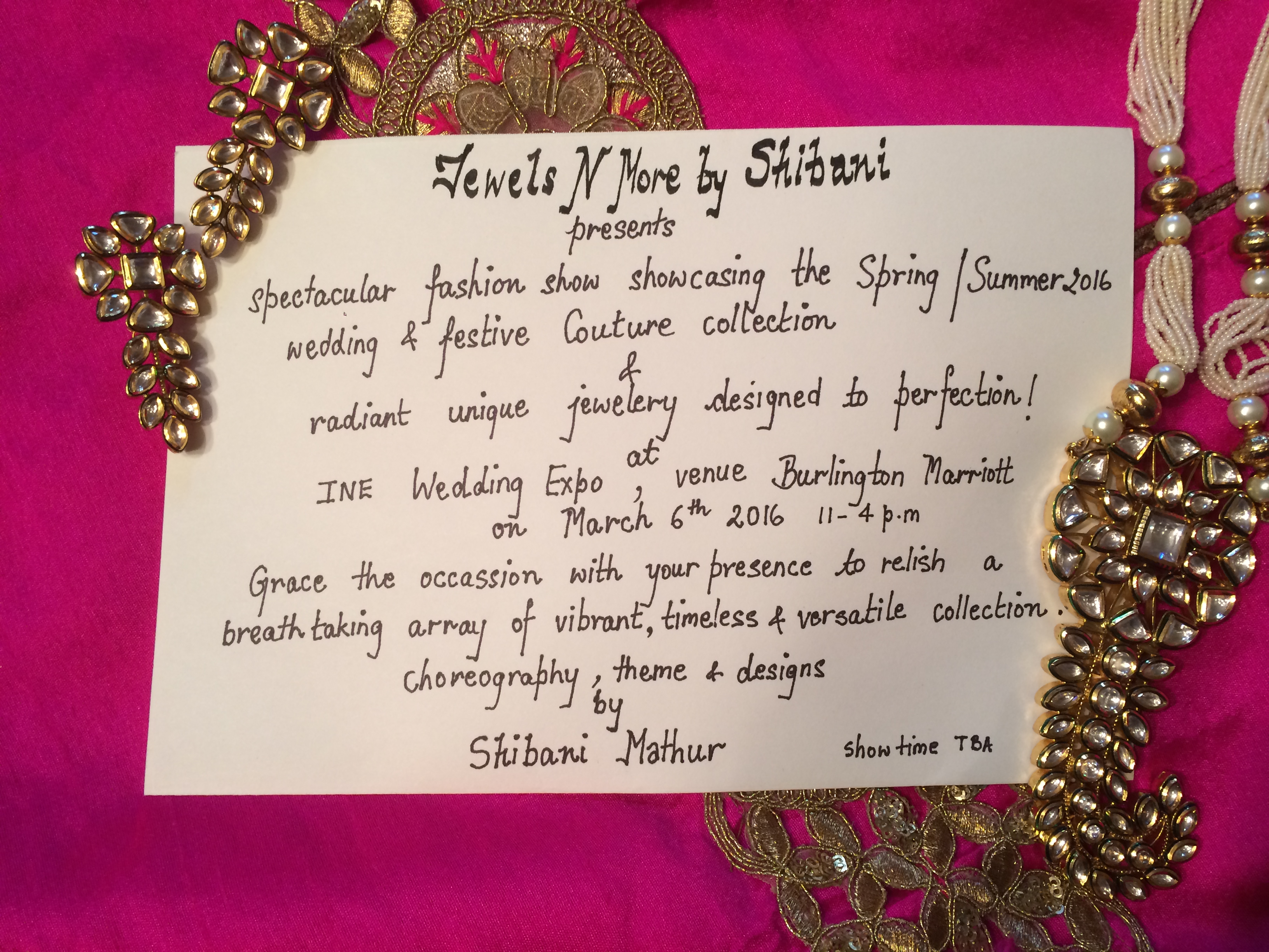 Shibani-invite