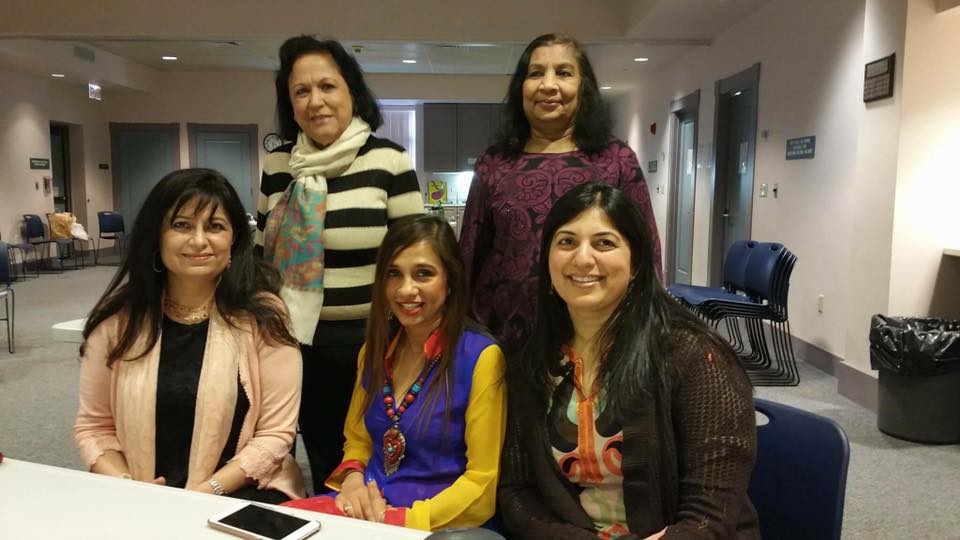 Seated from left to right: Dr. Manju Sheth, Dr. Sapna Aggarwal and Dr. Deepa Jhaveri; Standing left: Dr. Chander Kapasi)