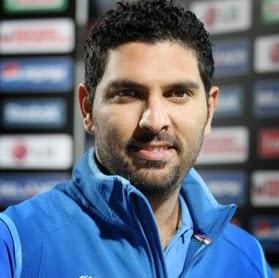 Yuvraj Singh  (Photo: Wikipedia)